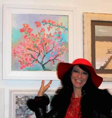 Tree in Bloom di Ester campese