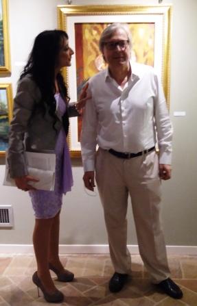 Prof. Vittorio Sgrabi ed Ester Campese